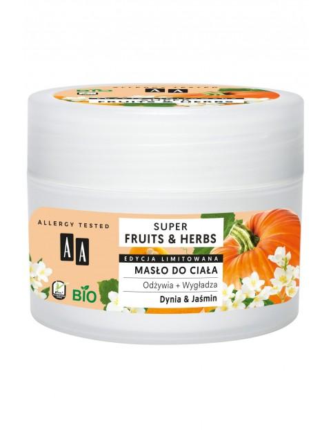 AA Super Fruits&Herbs masło do ciała dynia&jaśmin 200 ml