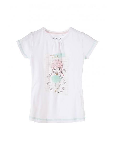 T-shirt dziewczęcy 3I3506