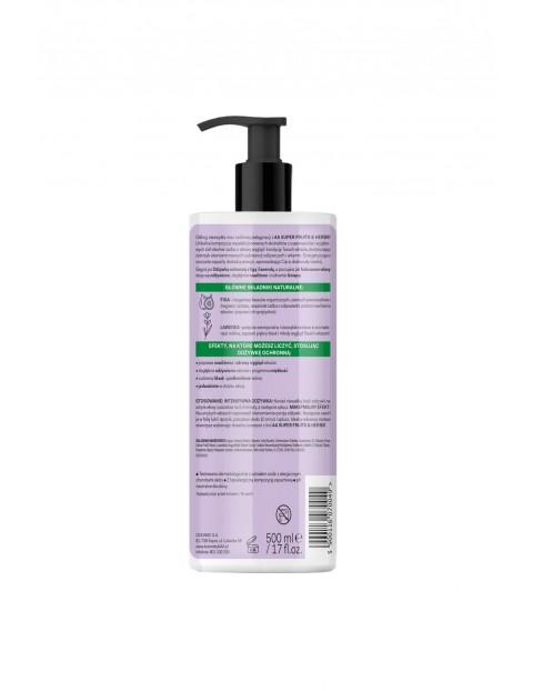 AA Super Fruits&Herbs odżywka ochronna włosy farbowane figa&lawenda 500 ml