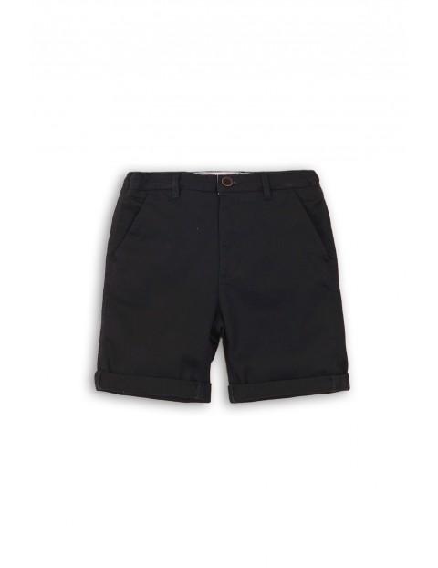 Krótkie spodenki dla chłopca- czarne