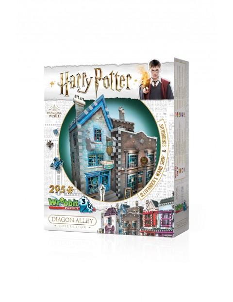 Wrebbit 3D puzzle Harry Potter Ollivander's Wand Shop & Scribbulus 295 el