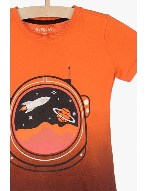 T-shirt dla chłopca- Kosmos