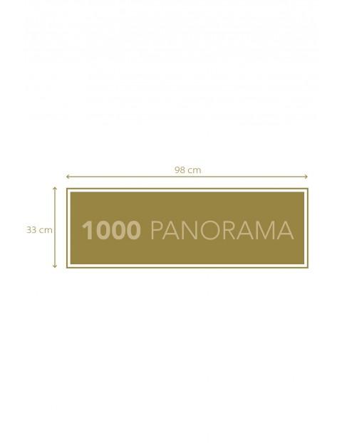 Puzzle Panoramiczne collection Marvel - 1000  elementów wiek 9+