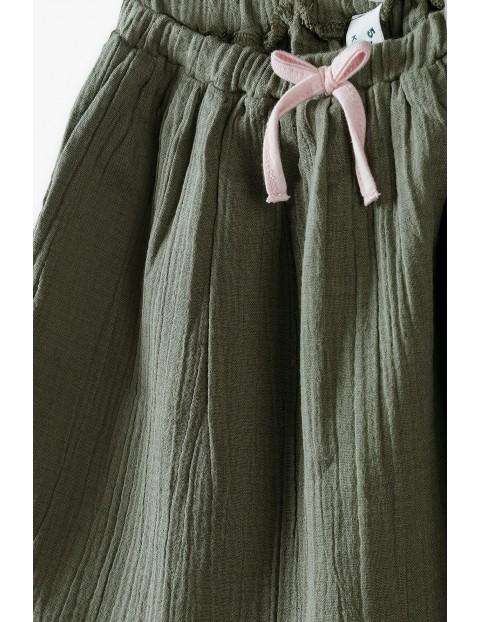 Spódniczka bawełniana - khaki