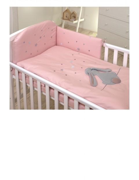 Pościel dla dzieci Amy 3-elementowa 135x100 Fluffy rose