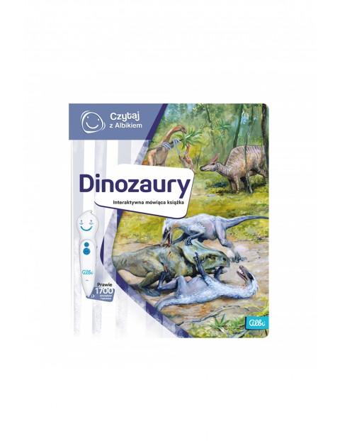 Czytaj z Albikiem - Dinozaury - Interaktywna mówiąca książka (produkt uzupełniający -nie posiada pióra)