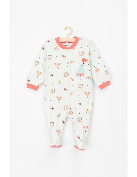 Pajac dla niemowlaka 100% bawełna