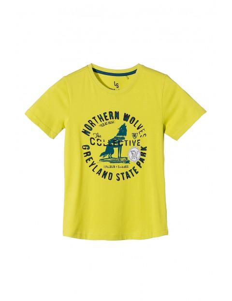T-shirt chłopiecy 2I3512
