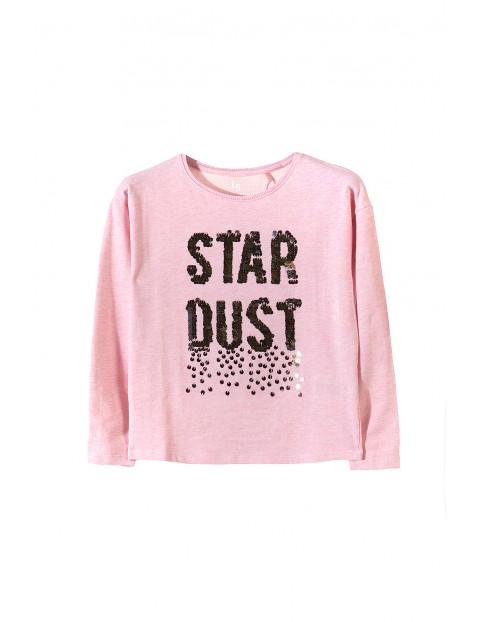 Bluza dresowa dziewczęca 4F3409