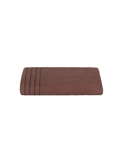 Bawełniany ręcznik brązowy 50x90 cm