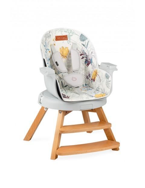 Krzesełko do karmienia 3w1 Momi WOODI kwiaty