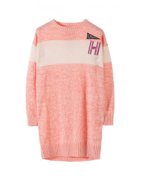 Sweter dziewczęcy 4C3201