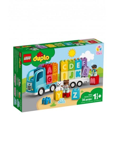 Lego Duplo - Ciężarówka z alfabetem - 36 elementów wiek 18msc+