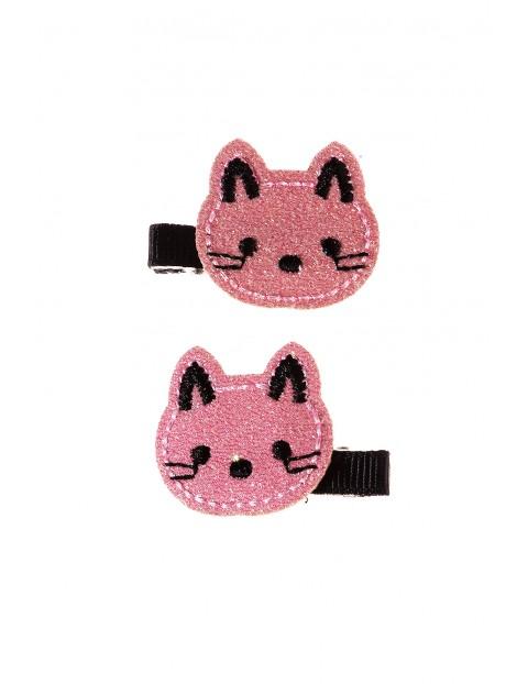 Spinki do włosów 2pak -koty