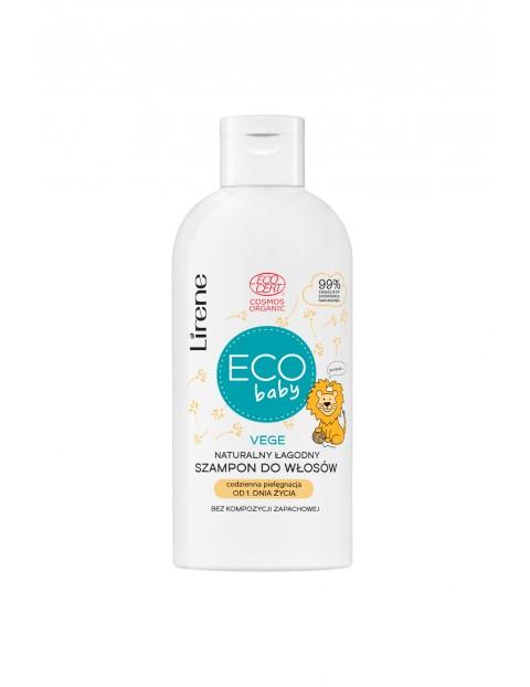 Lirene ECO BABY Naturalny-łagodny szampon do włosów, ECOCERT 200 ml