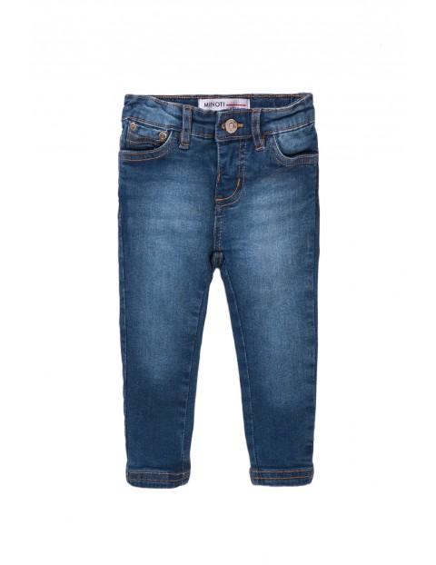 Spodnie dziewczęce jeansowe- granatowe