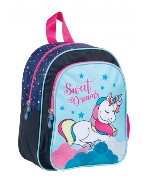 Plecak dla przedszkolaka z jednorożcem
