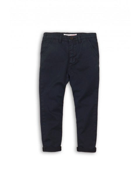 Spodnie chłopięce chinosy 2L35AG