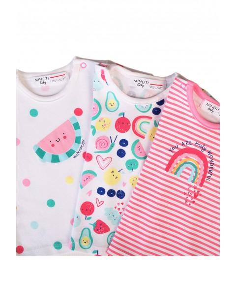 Wielopoak bawełnianych t-shirtów dla niemowlaka