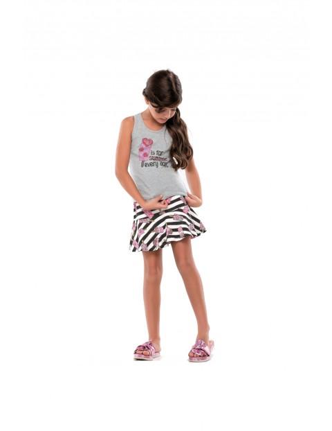 Zestaw ubranek dziewczęcych na lato