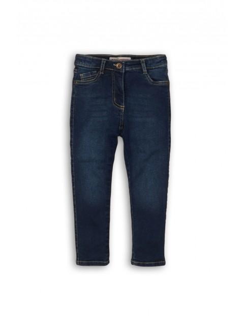 Jeansy dla niemowlaka- niebieskie