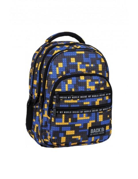 Plecak szkolny BackUp Bricks