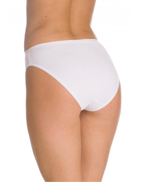 Damskie figi bikini - białe