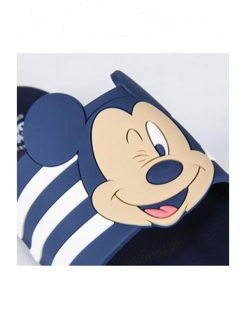Klapki chłopięce Myszka Mickey granatowe