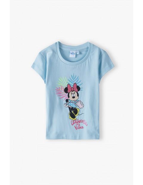 T-shirt dziewczęcy Myszka Minnie