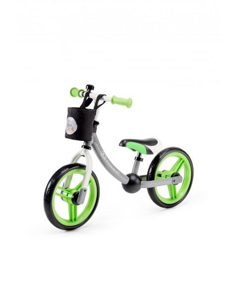 Rowerek biegowy 2WAY z akcesoriami Kinderkraft-zielony