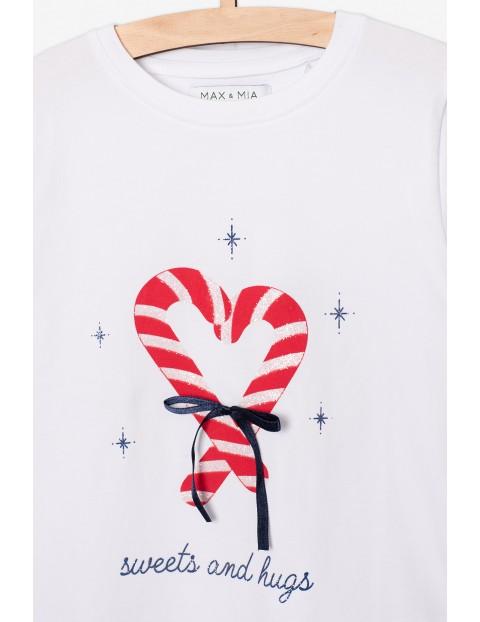 Ubrania świąteczne- bluzka i tiulowa spódnica