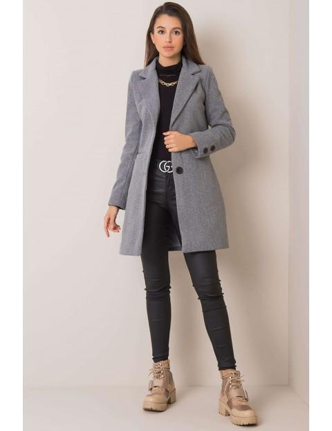 Płaszcz damski - szary
