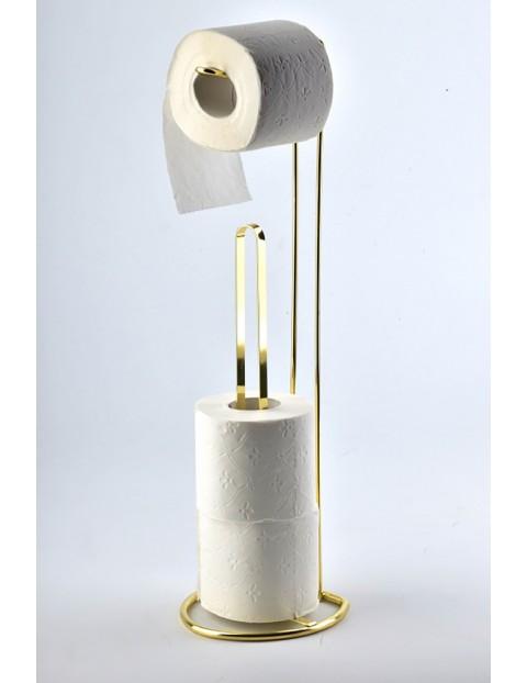 Stojak na papier CARL GOLD - złoty