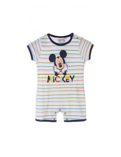 Rampers niemowlęcy Myszka Mickey 5R34AE