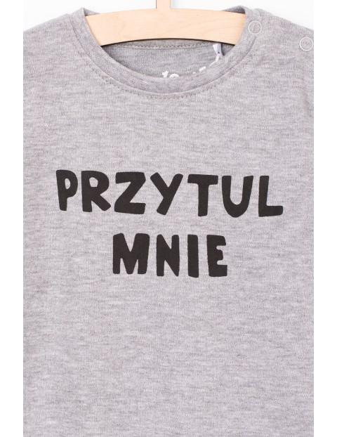 Body niemowlęce z polskim napisem - Przytul mnie