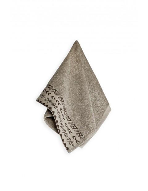 Ręcznik bawełniany DRIADA orzechowy kolor 30X50cm 2-pak