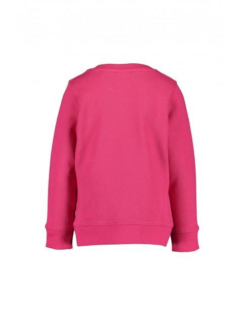Różowa bluza dresowa z koniem