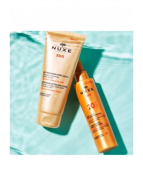 NUXE Sun Mleczko do opalania twarzy i ciała (w sprayu) - niska ochrona SPF20 150 ml
