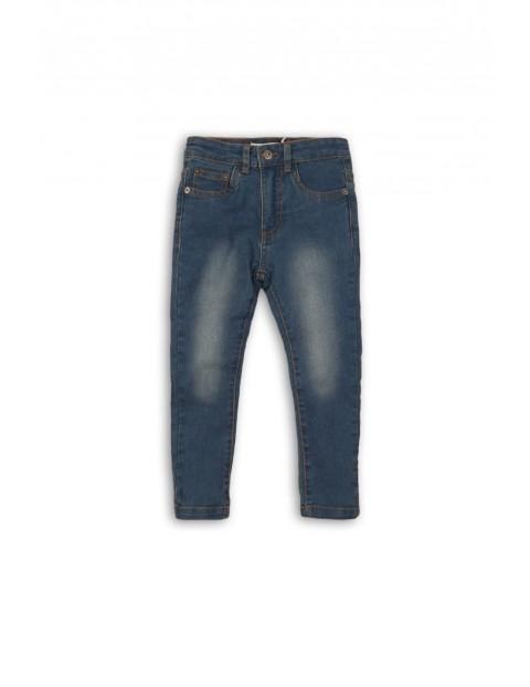Spodnie niemowlęce jeansowe 5L35AQ