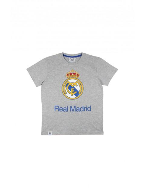 T-shirt chłopięcy Real Madryt 2I34AY