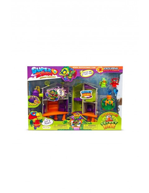Magic Box Super Zings seria 3 Sekretne Laboratorium + 2 figurki Superzings