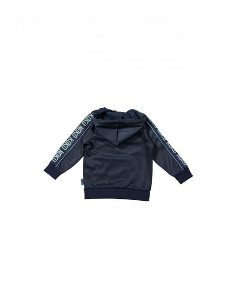 Bluza niemowlęca dresowa z kapturem