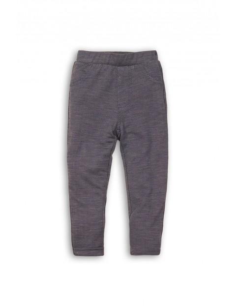 Spodnie jegginsy dziewczęce 3L35AH