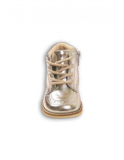 Buty dla dziewczynki- srebrne
