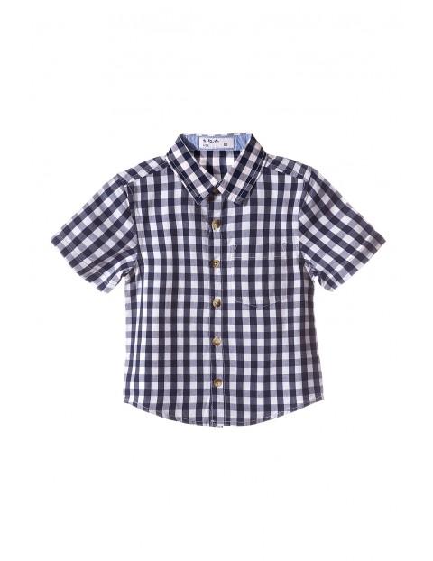 Koszula chłopięca w kratę 1J3408