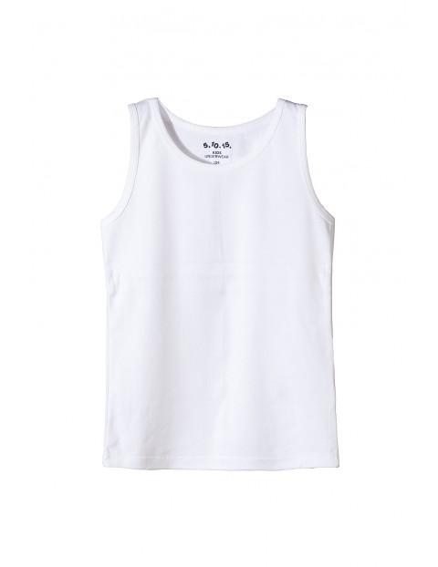 Podkoszulek chłopięcy biały 2W3509