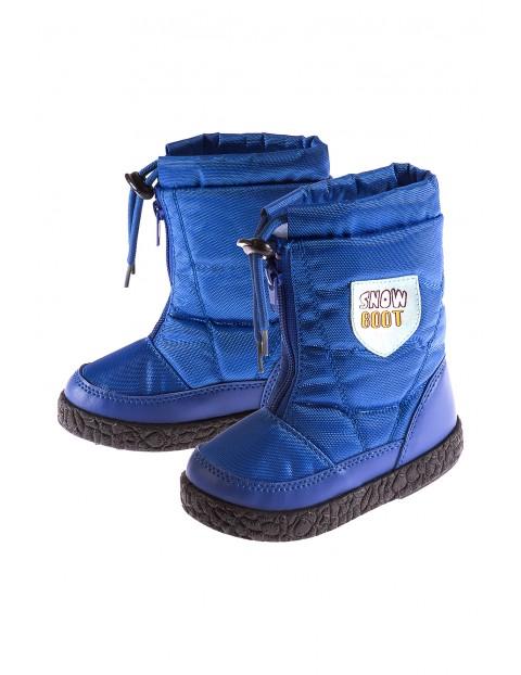 Buty zimowe- śniegowce 1Z3516