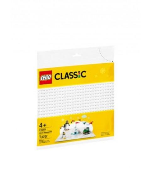 Biała płytka konstrukcyjna Lego 11010 - wiek 4+
