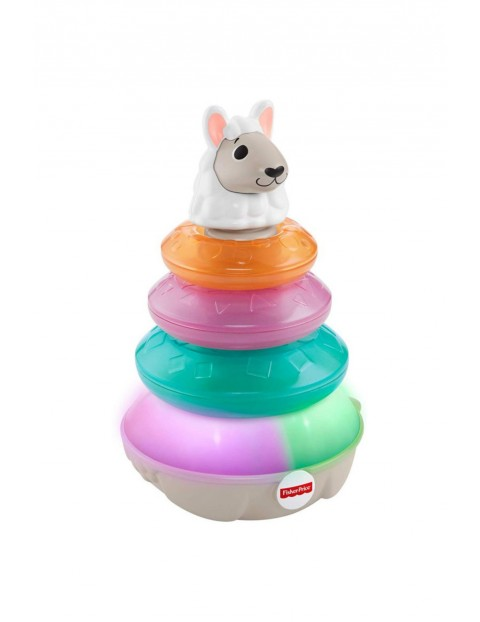 Fisher Price Linkimals Lama interaktywna 9msc+