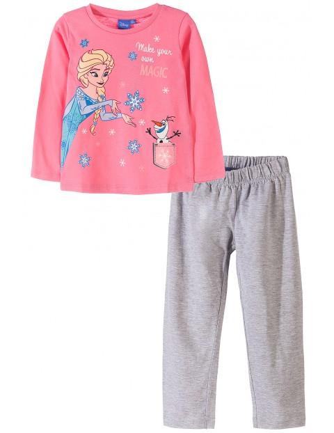 Piżama dziewczęca Kraina Lodu 3W35CN